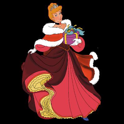 400x400 Disney Xmas Princesses