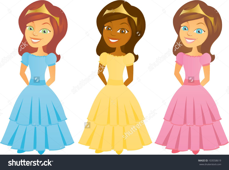 1500x1108 Shutterstock Cartoon Princess Clipart