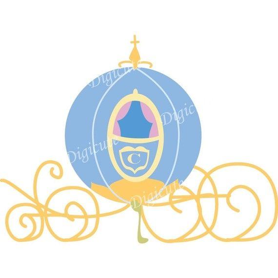 570x570 Cinderella Carriage Clipart