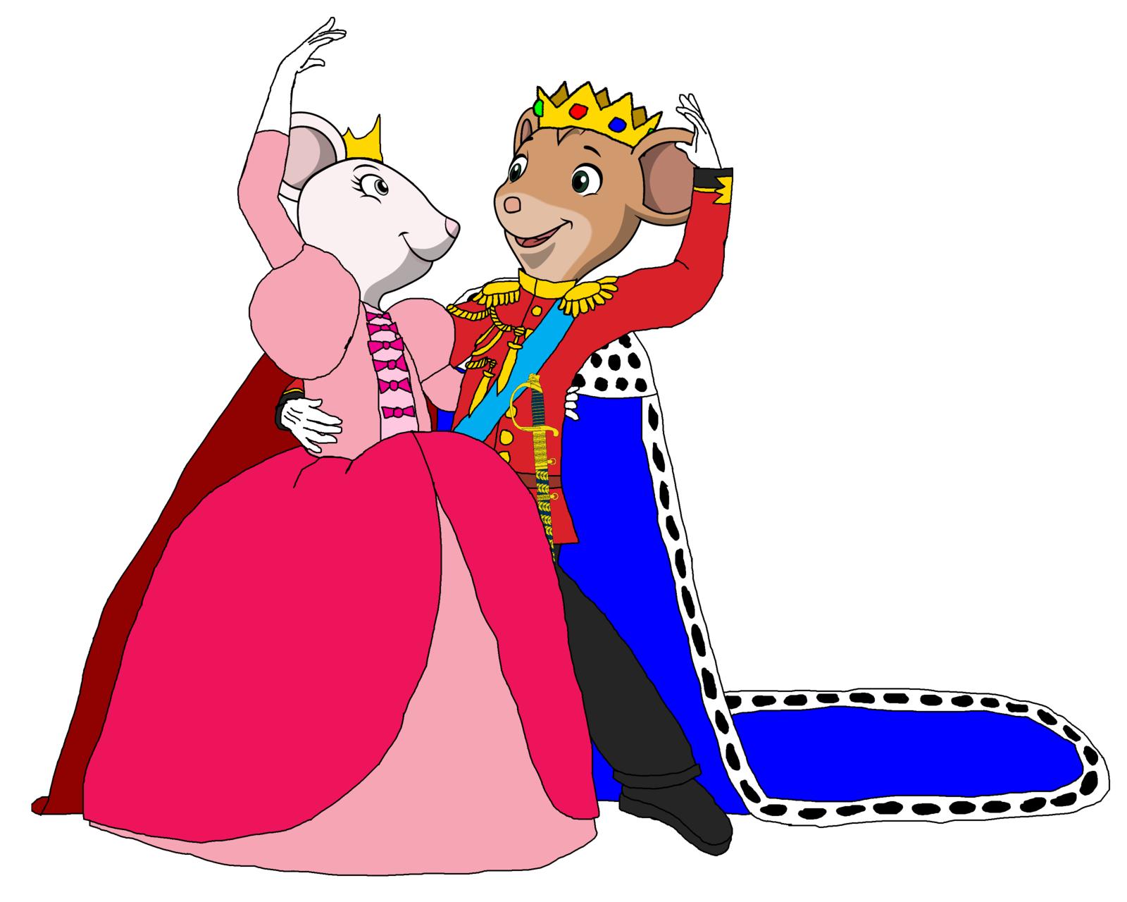 1600x1280 Prince And Princess Clipart