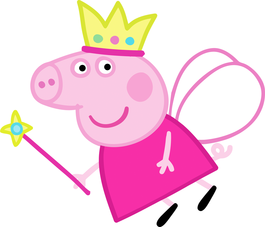 931x798 Collection Of Peppa Pig Princess Clipart High Quality, Free
