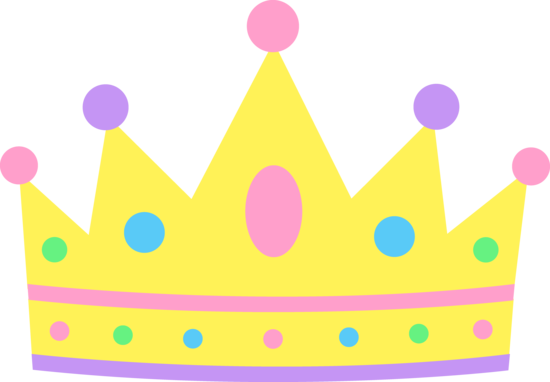 550x382 Cartoon Princess Crown Clipart