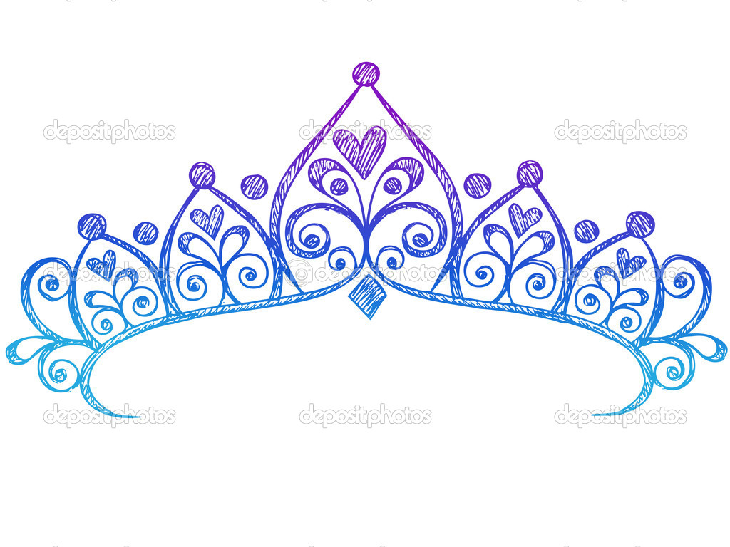 1024x768 Exquisite Princess Crown Clipart 6 Resize Drawing