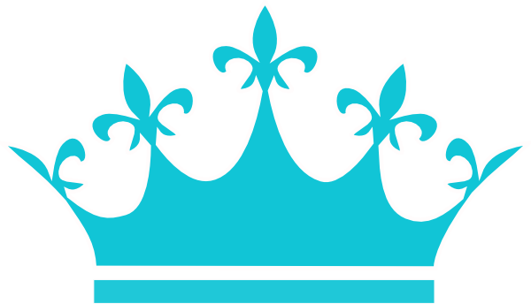 600x344 10 Best Images Of Blue Princess Crown Clip Art