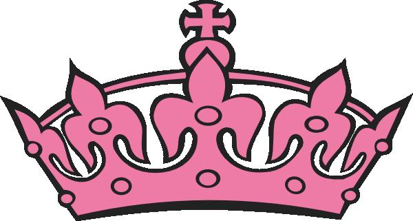 600x321 Pink Tiara Princess Clip Art