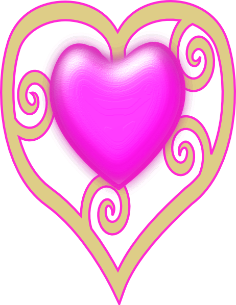 462x598 Princess Crown Heart Clip Art
