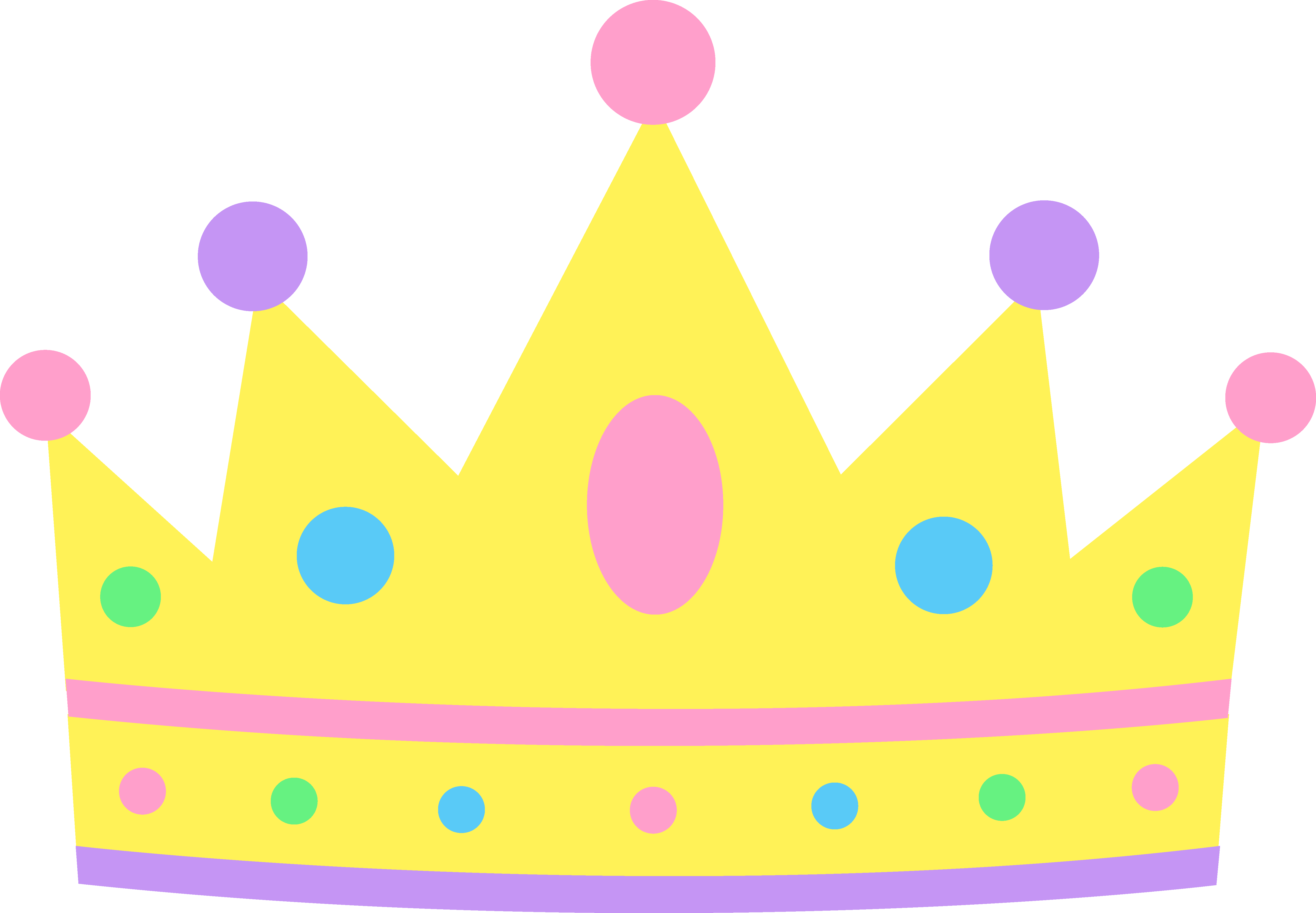 5662x3928 Princess Crown Clipart 11