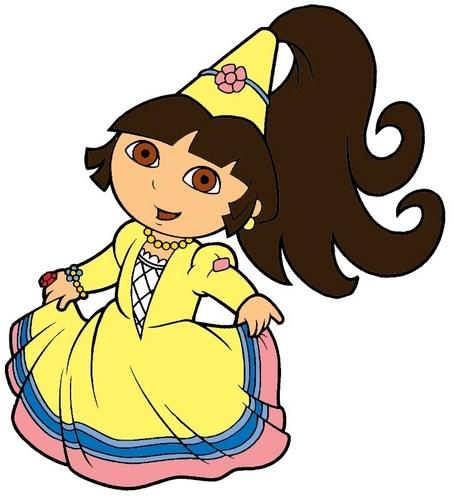 454x500 Dora The Explorer Images Princess Dora