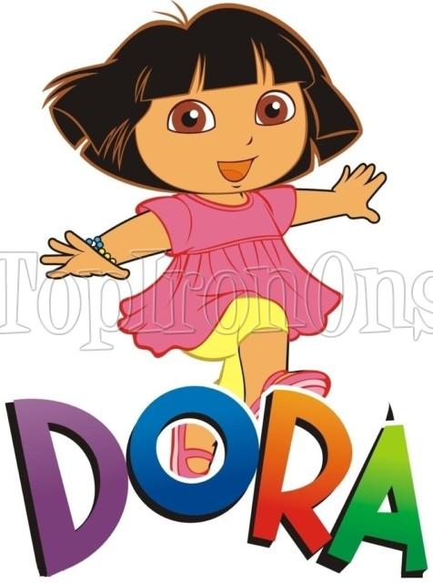 476x640 Dora Iron On Transfers