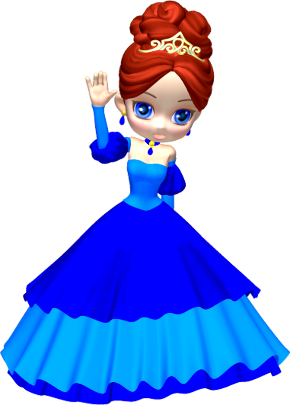 Princess Face Clipart