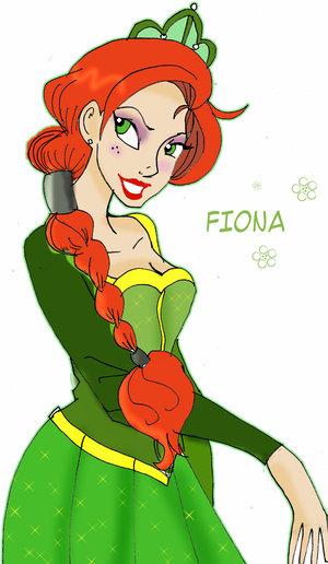 Princess Fiona Clipart