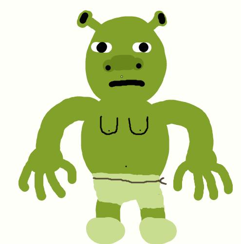 495x500 Shrek In Underwear By Kimitfrg777