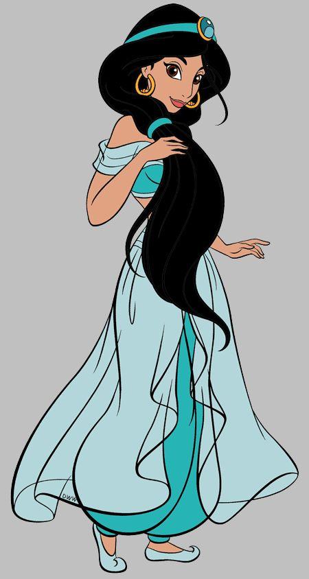 450x844 Princess Jasmine Clipart Jade