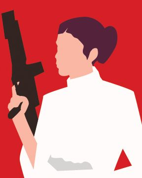 288x360 Princess Leia, Everyone's Favourite Intergalactic Monarch Rebel