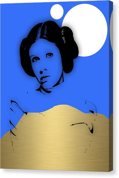 418x622 Princess Leia Canvas Prints