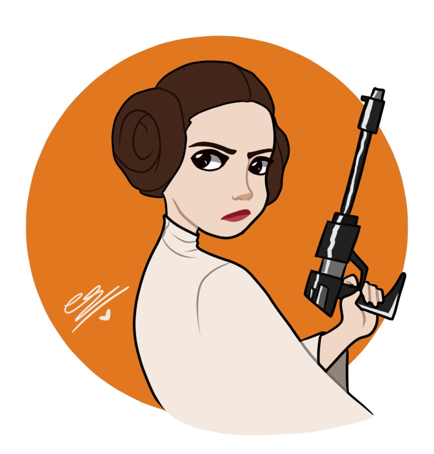 874x914 Princess Leia By Simpaticasx2