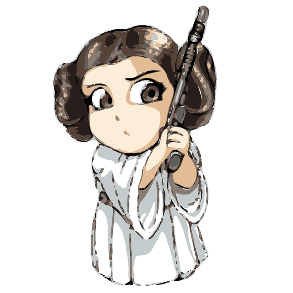 600x600 The Eternal Dreamers Princess Leia's Theme (From Star Wars
