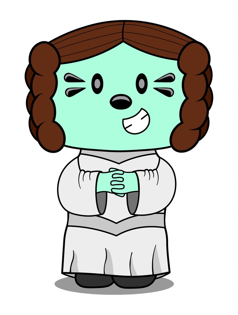 776x1029 Daizy Dressed As Princess Leia By Mdm Productions