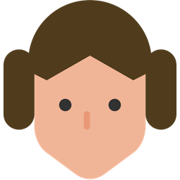 256x256 Leia, Princess Icon