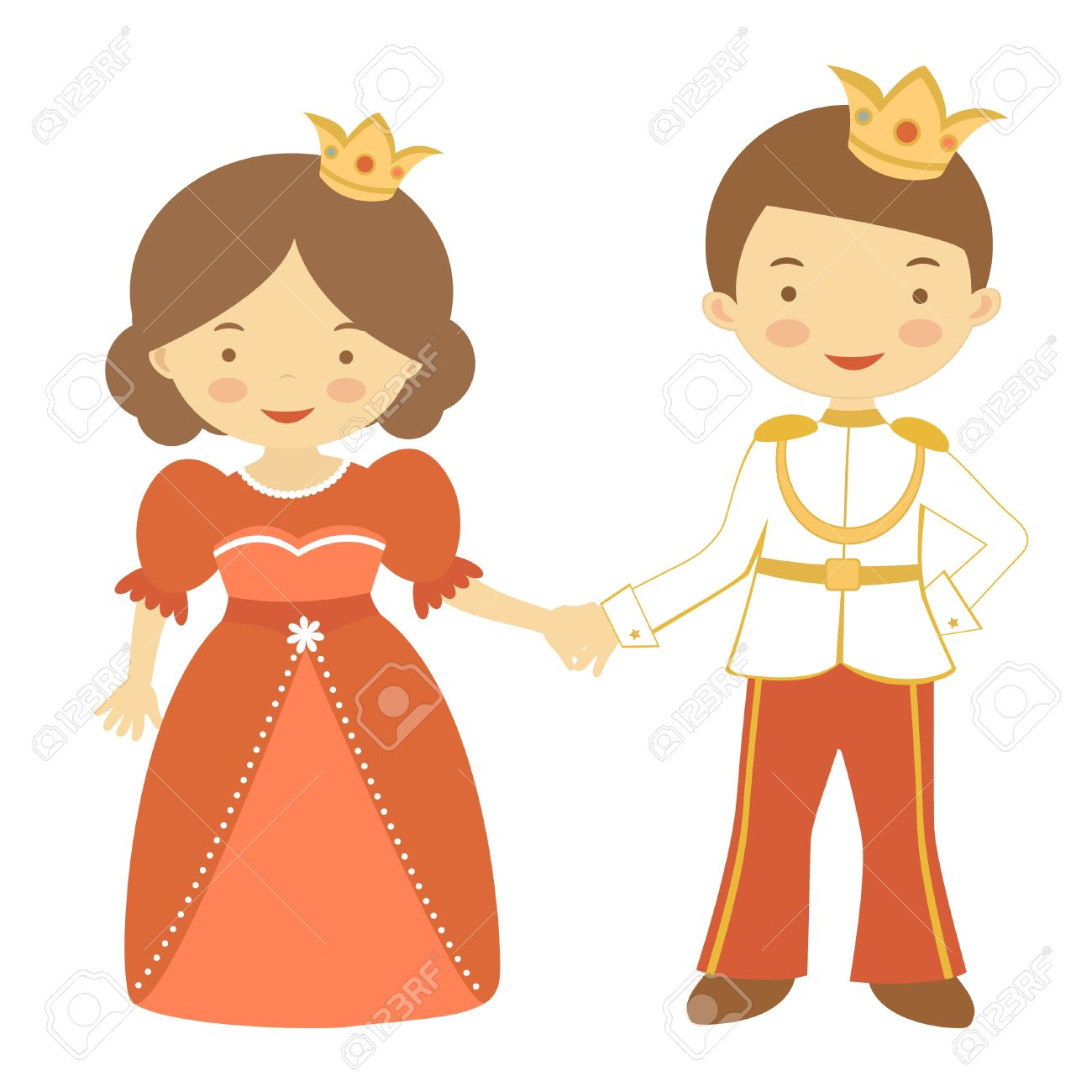 1300x1300 Princess And Prince Clipart 101 Clip Art