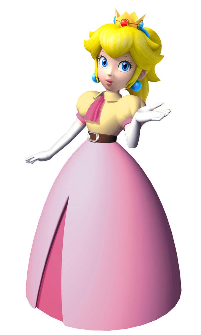 693x1154 Princess Peach Clipart Mario Party 9