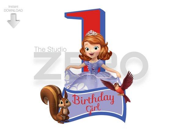 570x428 Princess Sofia Clipart, Bday Girl Shirt, Sofia The First, 1st