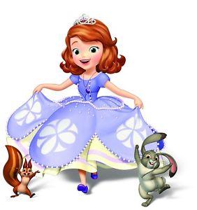 282x300 Sofia The First Princess Film Childrens Kids Tv Movie Canvas
