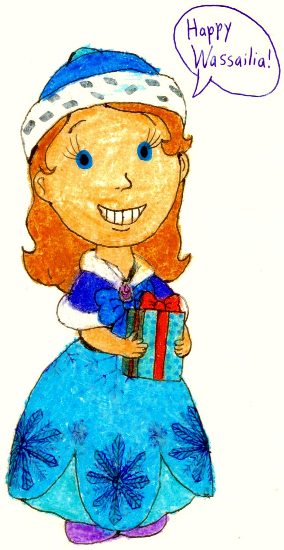 936x1812 Happy Wassailia Love, Princess Sofia By Bestbarneyfan