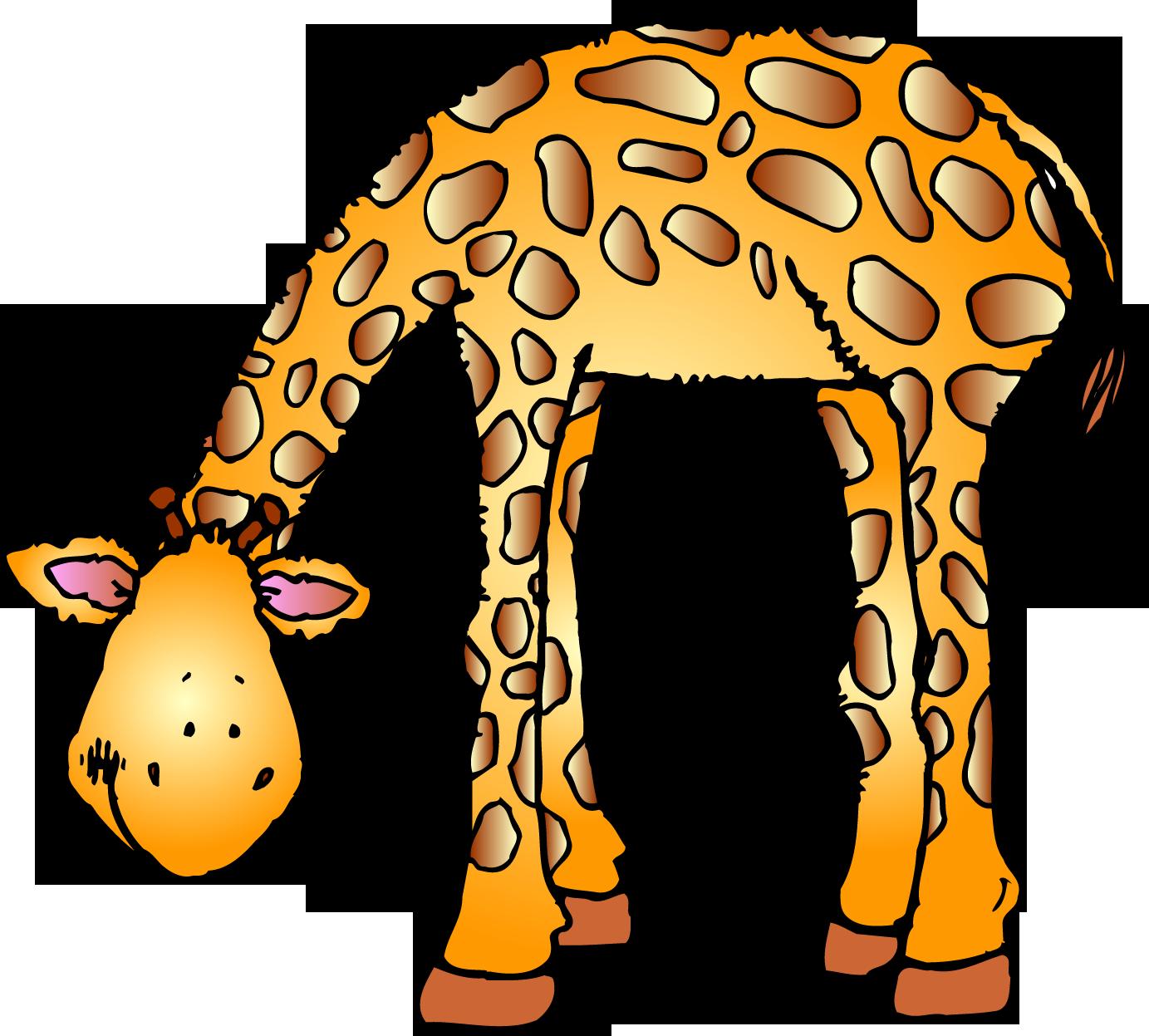 1383x1247 Printable Cute Zoo Animal Clip Art