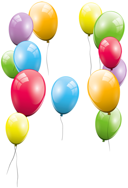 410x600 Large Transparent Balloons Clipart Picture Free Printables