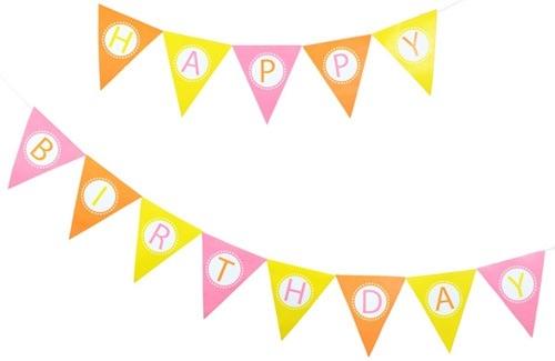 500x325 Birthday Banner Clipart