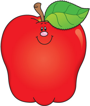 308x363 Free Printable Clipart Of Apples Apple Clip Art Cute Images 2 4