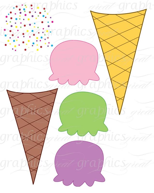 639x800 Ice Cream Clipart Printable
