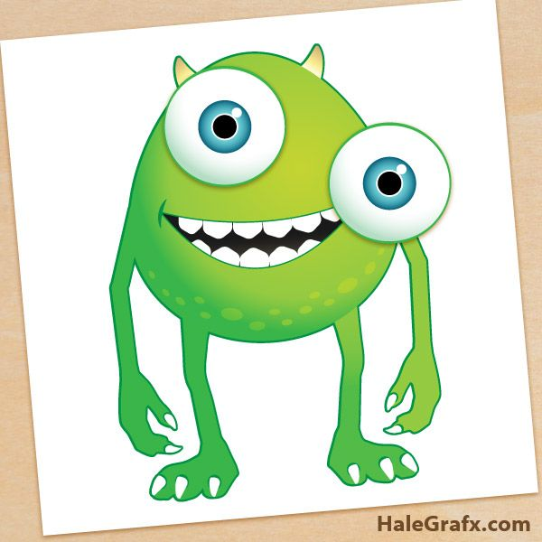 600x600 Monsters Inc Clip Art Free Free Monsters Inc Pin The Eye On Mike
