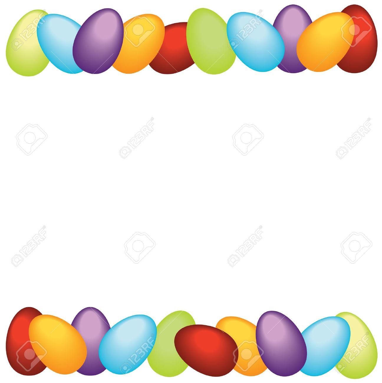 1296x1300 Easter Corner Borders Clip Art Happy Easter 2018