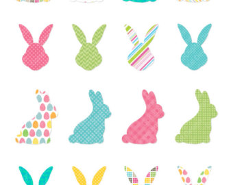 340x270 Watercolor Easter Clipart Easter Rabbit Clip Art Easter