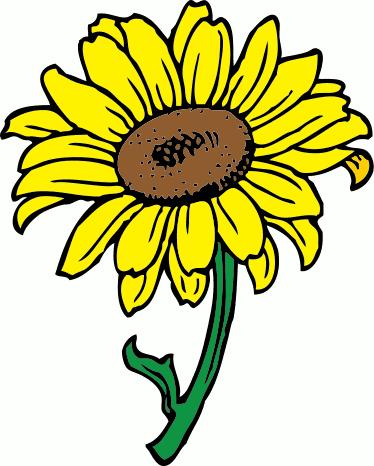 374x466 Sunflower Clip Art Free Printable Clipart Panda