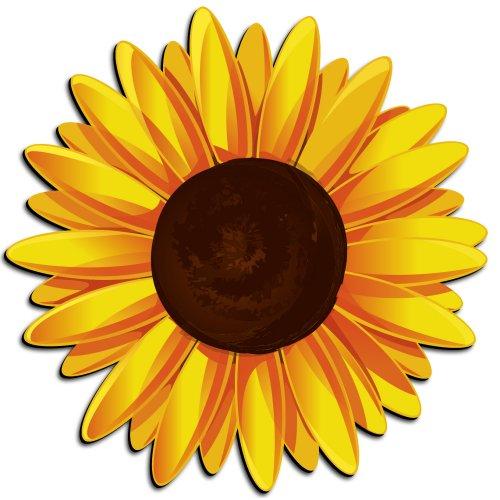500x500 Sunflower Clip Art Free Printable Clipart 2 9