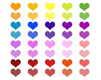 340x270 Digital Heart Clipart
