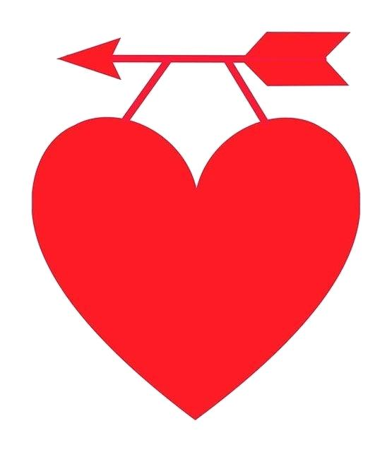 image relating to Printable Red Hearts referred to as Printable Centre Clipart at  Free of charge for