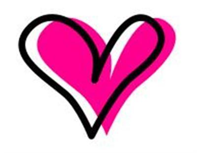 400x311 Graffiti Information Heart Clip Art Free