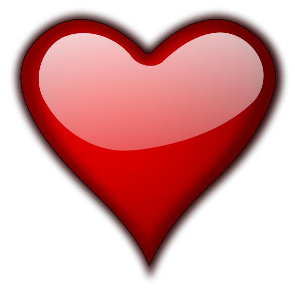 594x600 Pictures Of Valentine Heart Happy Valentine Heart Free Download