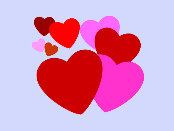600x450 Valentines Day Clip Arts