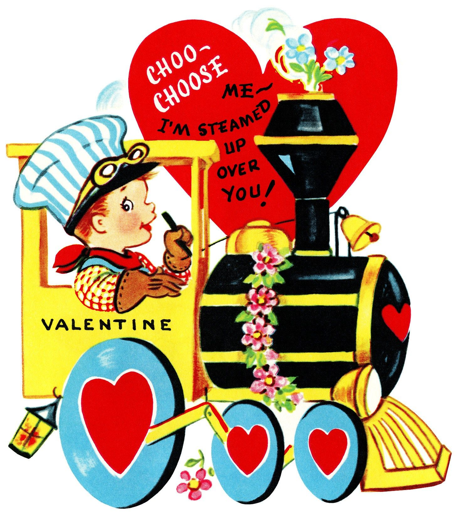 image about Free Printable Vintage Valentine Cards referred to as Printable Valentine Clipart at  Totally free for