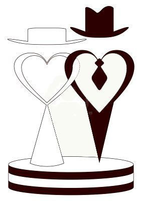 283x400 Novios Wedding, Clip Art And Silhouettes
