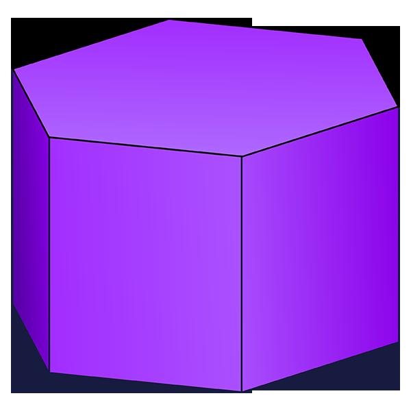 600x600 Hexagonal Prism