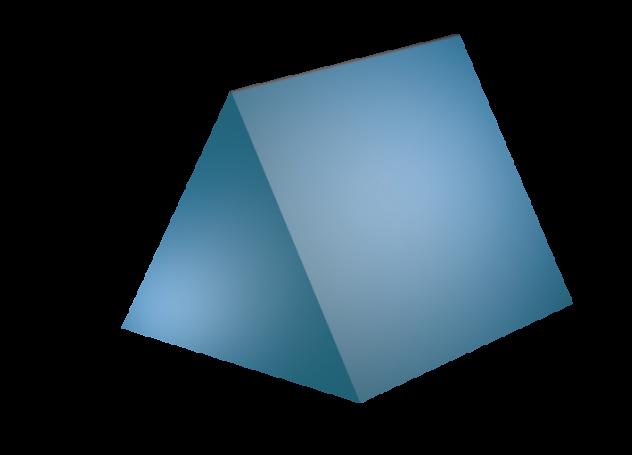 632x455 Math Clip Art Triangular Prism