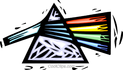480x274 Prism Royalty Free Vector Clip Art Illustration Vc042905