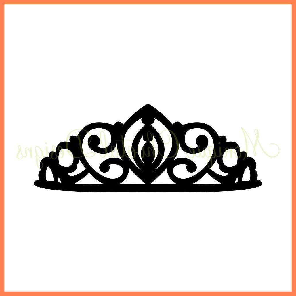 1029x1029 Marvelous Best Prom Queen Crown Vector Cdr Art Library Pict