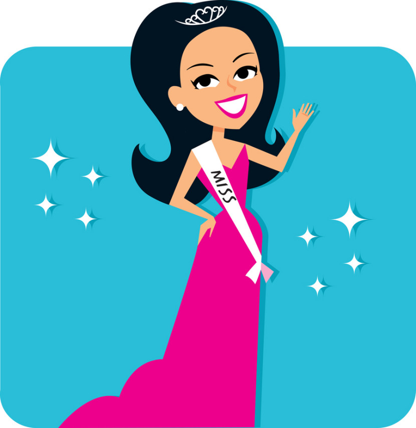 830x853 Beautiful Clipart Prom Queen